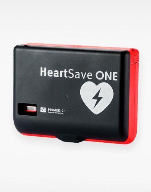 Desfibrilador semiautomático HeartSave ONE