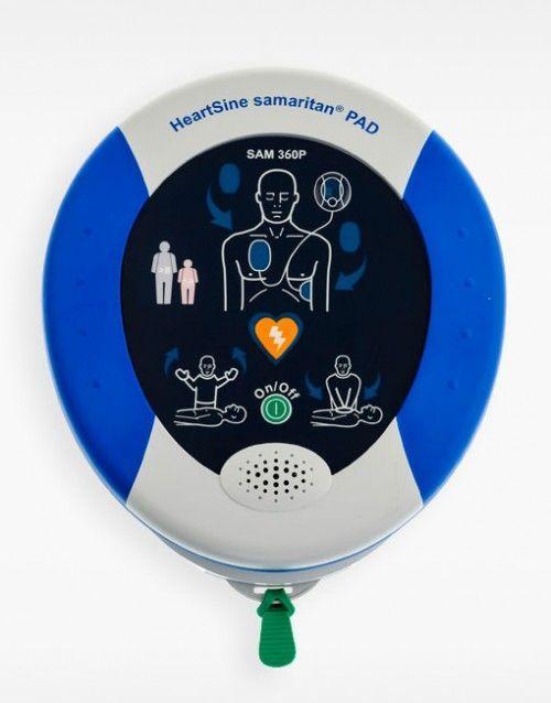 Desfribilador semiautomático Heart-Samaritan Pad 360P
