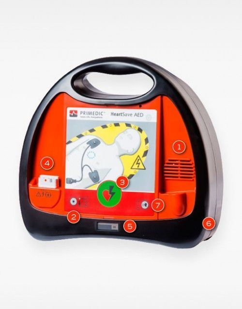 Desfibrilador semiautomático HeartSave AED