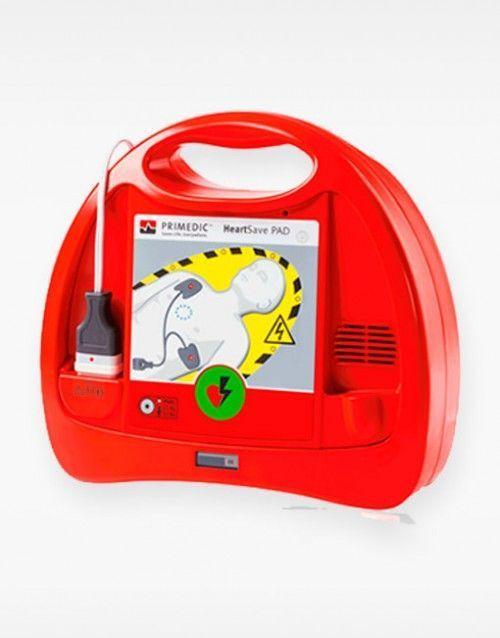 Desfibrilador semiautomático HeartSave PAD