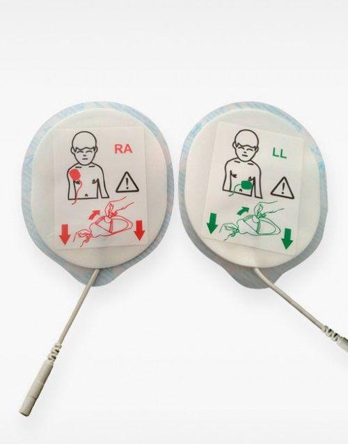 Electrodos pediatricos Telefunken