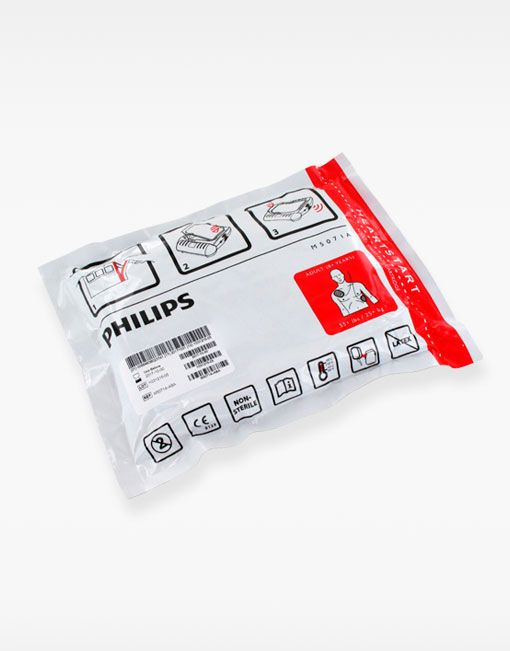 Embalaje electrodos adultos Philips HS1