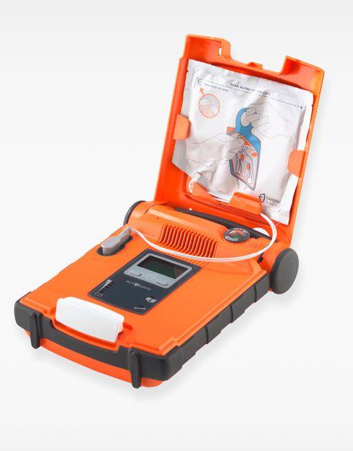 Desfibrilador Powerheart G5 abierto pad