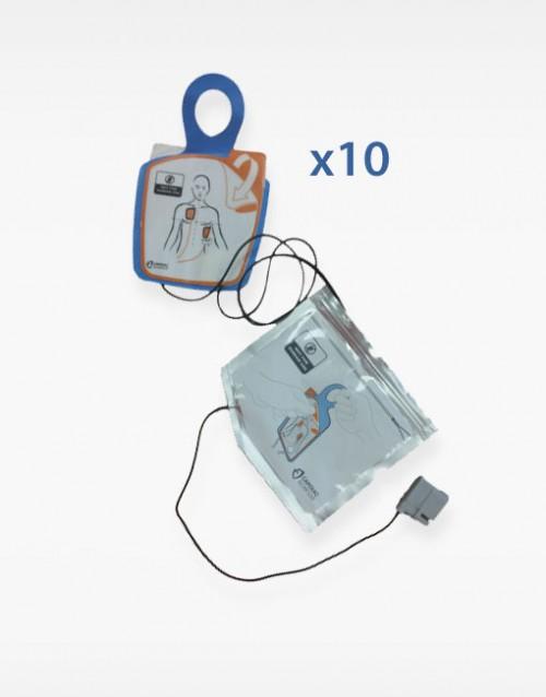 Electrodos adulto trainer Cardiac Science